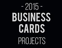 2015 Business Cards Portfolio