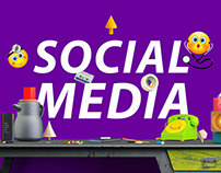 +39 Social Media Designs for inspiration ♥