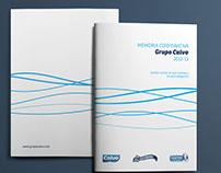Grupo Calvo. Memoria Corporativa 2013