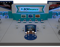 BCA Finance Booth at IIMS 2015, JIEXPO, Indonesia