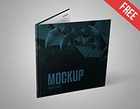 Square Book - Free PSD Mockup