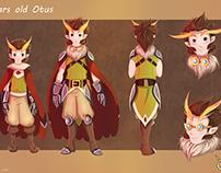 Owlboy Fanart - Otus and Geddy