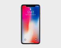 iPhone X Mockup - PSD