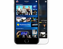 Playstation Mobile Redesign