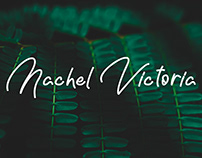 Nachel Victoria - Free simple font