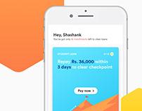 Loan Reminder App | Concept