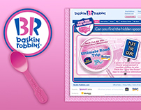 Baskin Robbins - Find the Pink Spoon Game