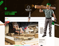 Özgür Woods - Corporate / E-commerce Web Design