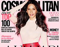 Cosmopolitan México April 2017 - Olivia Munn