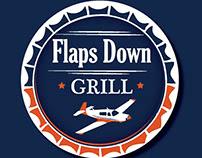 Flaps Down Grill Menu