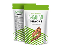 B-NATURAL SNACKS | Nuts & Dried fruits package design