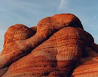 Candy Cliffs: Creamsicle Swirls
