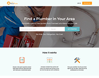 Redesign for The Home Fixers website