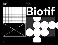 Biotif Typeface