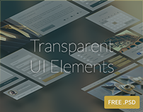 FREEBIE : Transparent UI Elements