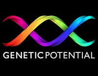 Genetic Potential Logo, Website & Print Design
