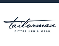 Tailorman - Logo Design