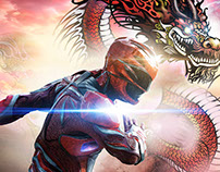 Power Rangers' poster for china