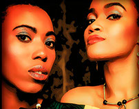African Beauties Cartoon Session 1990/2015