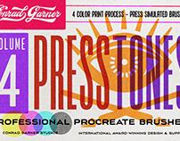 PRESSTONES - PROCREATE BRUSHES