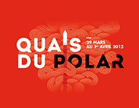 Quais du Polar Festival - 2013's Visual and Signage