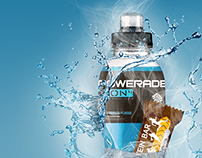 Visualisation of Powerade and CocaCola lightpacks