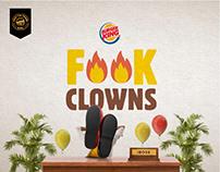 Burger King - F**k Clowns