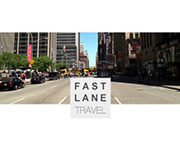 Fast Lane Travel // Corporate Design // Website 2013