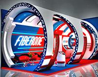 FiberOne stand design