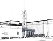 Grandview Church Sketches