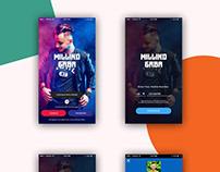 Musician App Screen