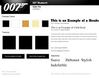 007 Style Tile