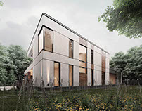 The project of a cottage in Saint-Petersburg