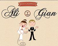 • Invitación Casamiento •