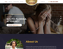 Law Firm Responsive Website Template Design By Nexstair