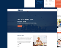Genuine - School Web Template FREE PSD Download