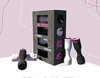 3DSmax - Boisson énergétique - GIRL POWER