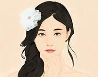 Portrait of a Beauty : Tzuyu