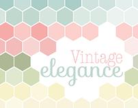 Vintage Elegance : Promotional Font Book