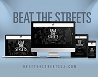 Beat The Streets - Website Mockup
