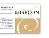 Worksight : Absecon Textiles branding