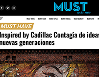 Artículo. Campaña Inspired By Cadillac