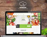 Khaizan Restaurant PSD Template (Freebie)