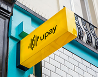 Upay. Restyling corporate identity for payment system