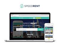 Speedrent New Website (2018)