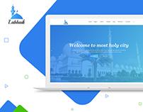 Islamic Web Template