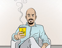 Chai Karak Illustrations