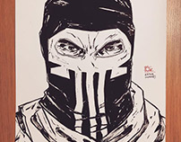 The Punisher - drawings