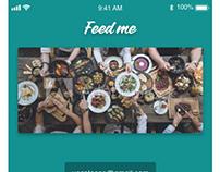 Adobe XD Creative Daily Challenge #6 - A restaurant app