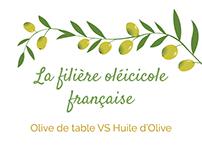 """INFOGRAPHIC - """" La filière oléicole française"""" - MBT"""